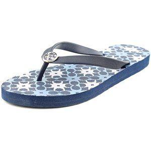 🆕 COACH Alessa Geometric Signature Flip Flops